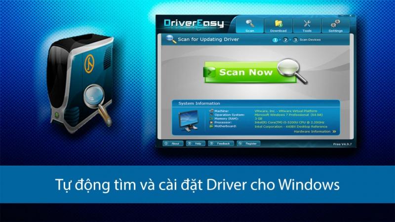 10 phần mềm cập nhật driver tự động tốt nhất hiện nay 1