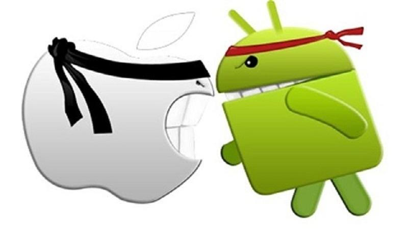 sự khác biệt cơ bản giữa hệ điều hành iOS và Android 2