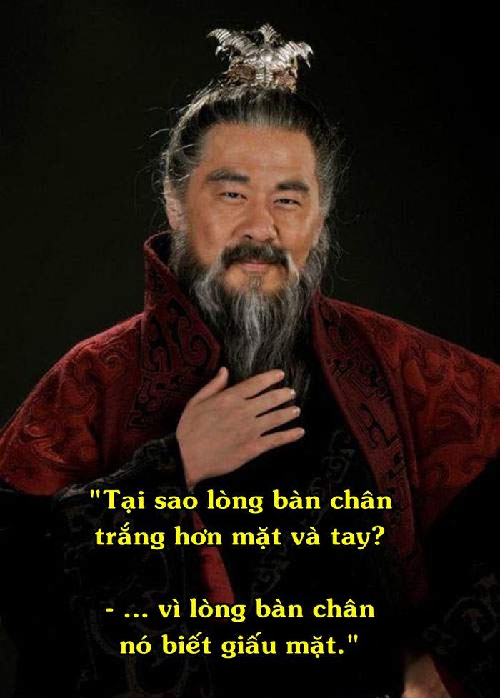 """Ở đây, Tào Tháo muốn nói rằng, đừng bao giờ phơi hết """"ruột gan"""" của mình cho người khác biết cũng như để họ thấu rõ tâm can của mình,và người thông minh là người biết giấu những điều cần giấu."""