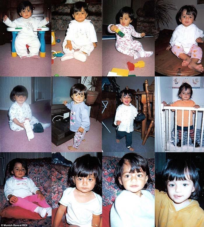 Khi Suman được 2 tuổi,3 tuổi…