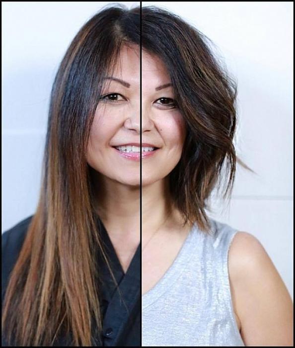 Nhiều nhà tạo mẫu tóc khuyên rằng chiều dài tối ưu cho mái tóc mỏng là không quá vai của bạn, kiểu này sẽ tạo cảm giác tóc dày dặn hơn.