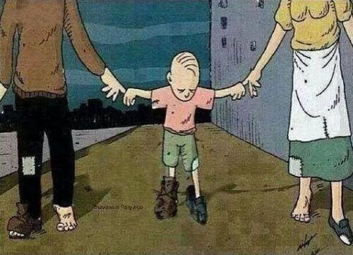 Tiền có thể dễ dàng mất đi nhưng tình cảm gia đình thì không như vậy. Gia đình là nơi chứa đựng nhiều tình yêu thương nhất trên đời
