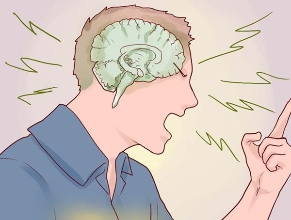 Hãy dùng lí trí để điều khiển lời nói của mình. (Ảnh minh họa: wikihow)