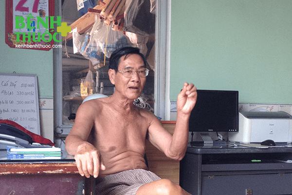 Ông Hạp kể về quá trình chữa bệnh ly kỳ của mình