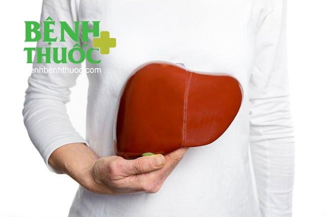 Gan là cơ quan thải độc quan trọng của cơ thể