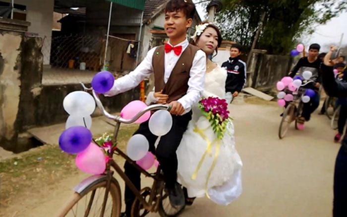 Đám cưới đơn sơ nhưng hạnh phúc lâu dài. Ảnh Internet