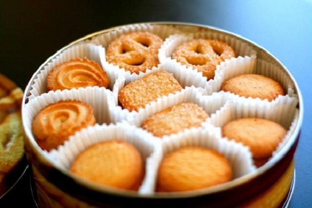Bánh quy chỉ nên bảo quản tối đa từ 6-8 tháng. (Hình ảnh minh họa)
