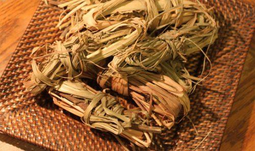 Sả được dùng làm hương liệu